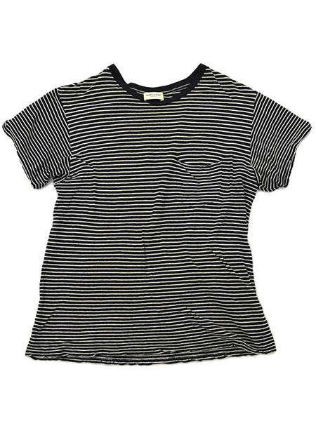 サンローランパリ 13AWボーダーTシャツ