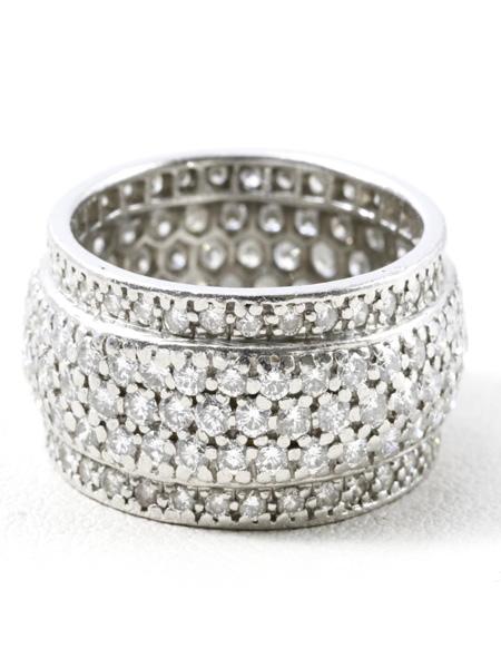 プラチナ ダイヤリング